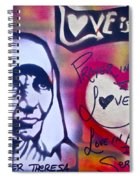 Mother Theresa Service Spiral Notebook