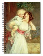 Mothers Darling Spiral Notebook