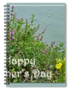 Mother's Day - Wildflowers By The Pond Spiral Notebook