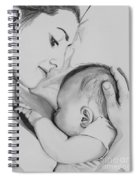 Mother's Love Spiral Notebook