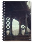 Motion Blur Spiral Notebook