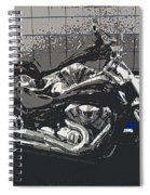 Motorcycle Ride - Two Spiral Notebook