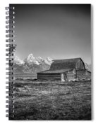 Moulton Barn Bw Spiral Notebook
