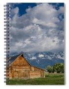 Moulton Barn Morning Spiral Notebook