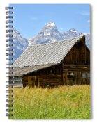 Moulton Barn On Mormon Row Spiral Notebook
