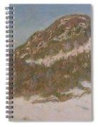 Mount Kolsaas In Sunlight Spiral Notebook