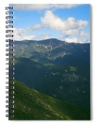Mount Lafayette From Top Of Cannon Mountain Spiral Notebook