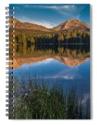 Mount Lassen Reflecting 2 Spiral Notebook