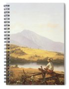 Mount Mansfield Spiral Notebook