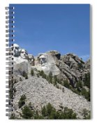 Mount Rushmore Full View Spiral Notebook