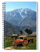 1941 Willys Week End Project Under Mount San Jacinto  Spiral Notebook