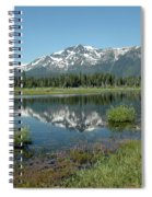 Mount Tallac Sky Projections Spiral Notebook