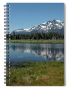 Mount Tallac View Of The Cross Spiral Notebook
