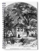 Mount Vernon, 1883 Spiral Notebook