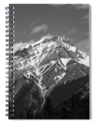 Mountain Cascade Spiral Notebook