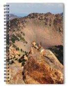 Mountain Climber Spiral Notebook