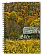 Mountain Home Painted Spiral Notebook