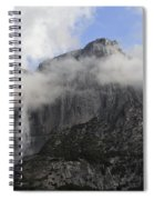 Mountain In The Clouds Spiral Notebook