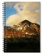Mountain In The Morning Spiral Notebook