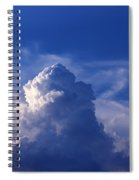 Mountain In The Sky Spiral Notebook