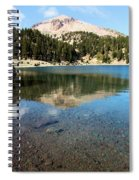 Mountain Lake Reflections Spiral Notebook