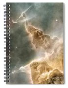 Mountain Of Cold Hydrogen Spiral Notebook