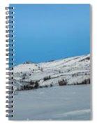 Mountain Range Along The Dempster Highway Spiral Notebook
