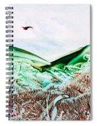 Mountain Scene Spiral Notebook