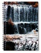 Mountain Stream Waterfall Spiral Notebook