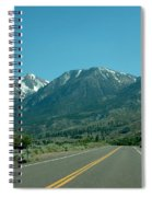 Mountains Ahead Spiral Notebook