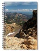 Mountains At Lassen Spiral Notebook