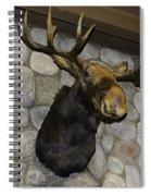Mounted Moose Spiral Notebook
