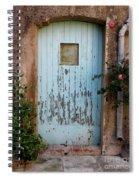 Mouse Door Spiral Notebook