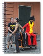 Moving Star Spiral Notebook