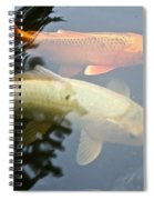 Mr And Mrs Koi Spiral Notebook