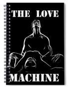 Mr Lover Lover Spiral Notebook