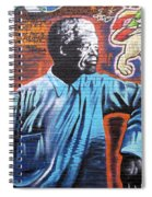 Mr. Nelson Mandela Spiral Notebook