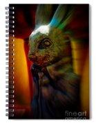 Mr. Rabbit Spiral Notebook