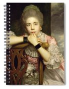 Mrs Abington As Miss Prue In Congreve's 'love For Love'  Spiral Notebook