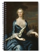 Mrs. Charles Carroll Of Annapolis Spiral Notebook