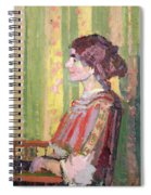 Mrs Robert Bevan Spiral Notebook