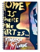 Ms. Marilyn Spiral Notebook
