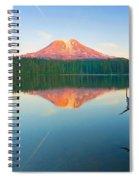 Mt. Adams Alpenglow Spiral Notebook