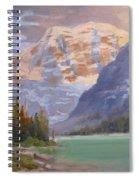 Mt Edith Cavell Jasper Spiral Notebook
