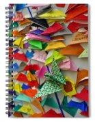 Mt. Fuji Oragami Spiral Notebook