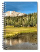 Mt Lassen Reflections Spiral Notebook
