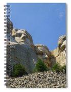 Mt Rushmore Spiral Notebook