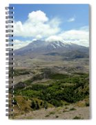 Mt St Helens 3 Spiral Notebook