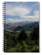 Mt St Helens Lookout Spiral Notebook