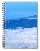 Mt Tamalpais From The Air Spiral Notebook